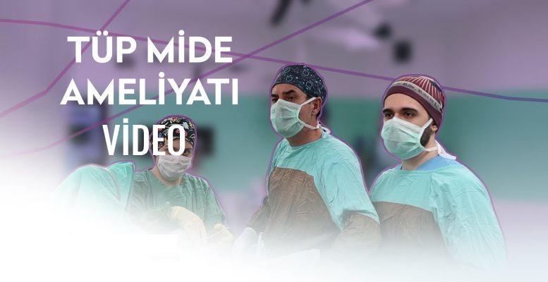 Tüp Mide Ameliyatı Nasıl Yapılır? Video