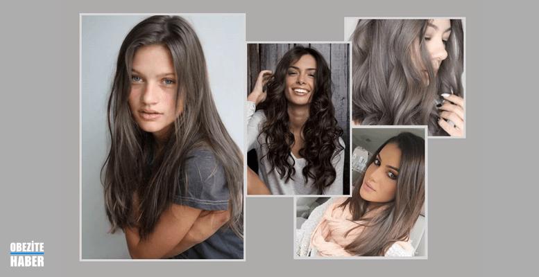 Kumral Saç Modellerinde Doğal Işıltılar