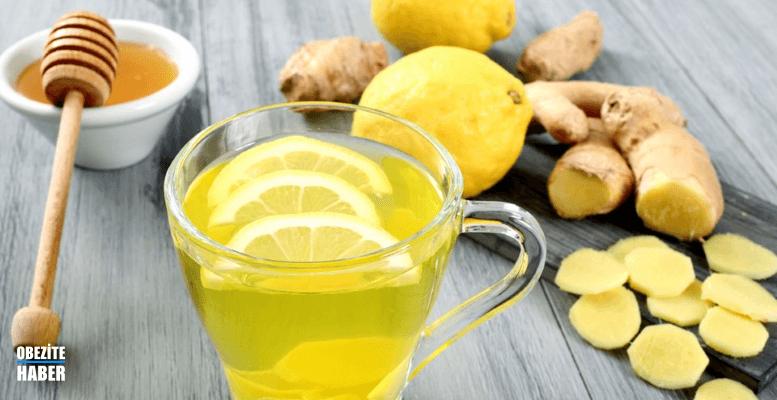 Zencefil limon detoks