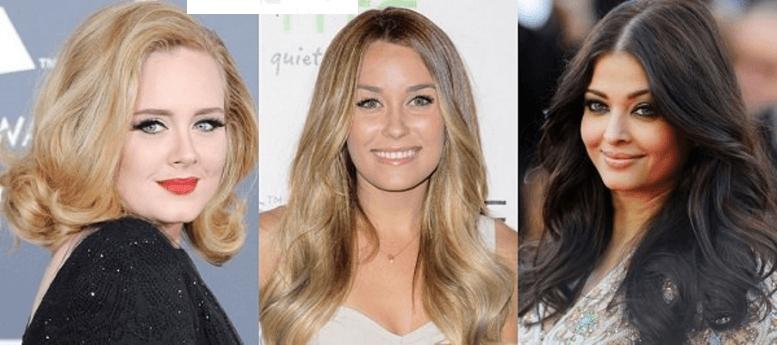 Yuvarlak Yüz Tipi İçin Hacimli Saçlar