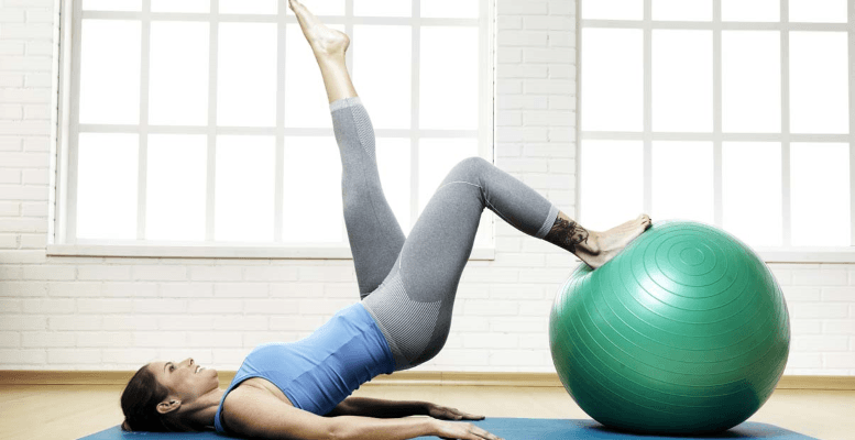 Bacak Kalfı İnceltmek İçin Pilates Yapın
