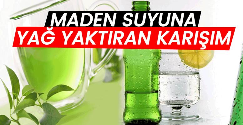 Maden Suyu, Soda ve Yeşilçay Diyeti Nasıl Yapılır?