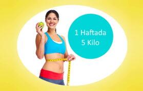 1 Haftada 5 Kilo Zayıflama Detoksu Nasıl Yapılır